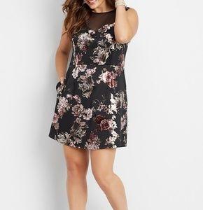 Maurice's Floral Sleeveless Dress